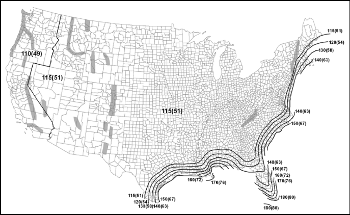 ASCE 7-10 Map