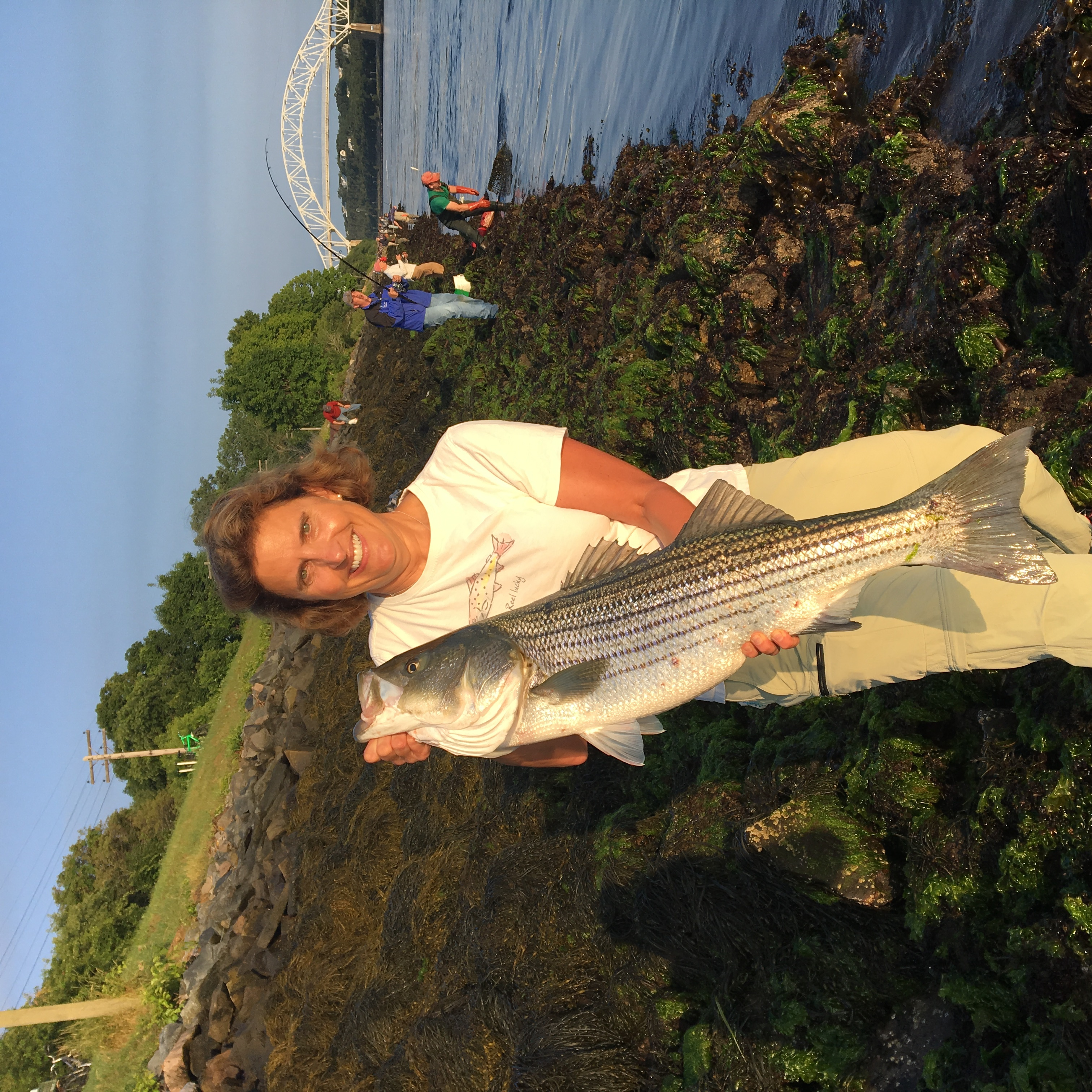 Beth fishing