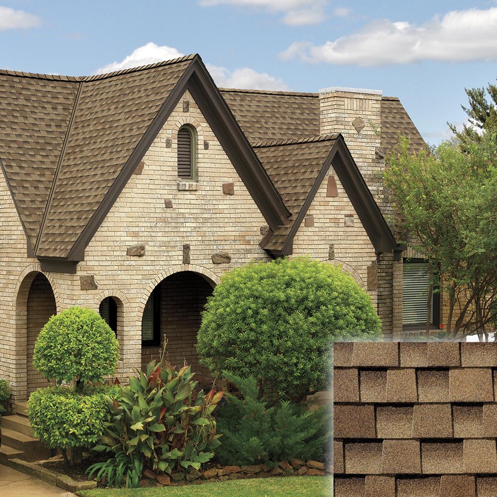 shakewood color roof and shingle