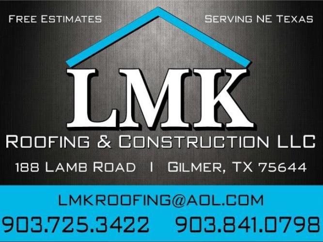 LMK Roofing & Construction LLC
