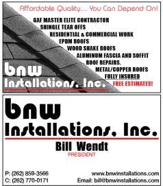 BNW Installations Inc