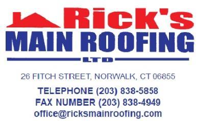Rick's Main Roofing Ltd