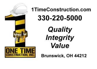 One Time Construction Inc