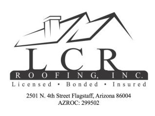 LCR Roofing Inc