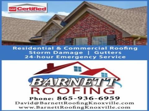 Barnett Roofing Knoxville
