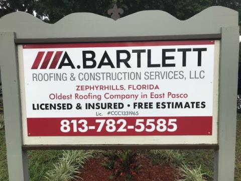 A Bartlett Roofing & Const Service LLC