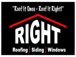 Right Roofing & Siding Inc
