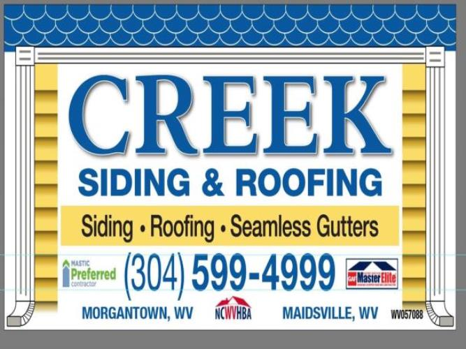 Creek Siding & Roofing Inc