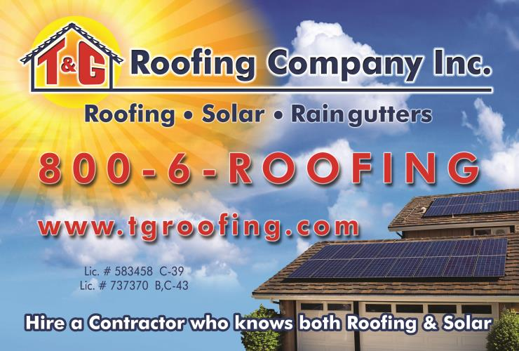 T & G Roofing and Solar Company