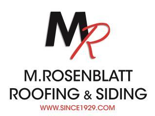 M Rosenblatt Roofing & Siding