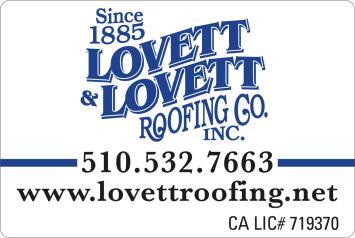 Lovett & Lovett Roofing Co Inc