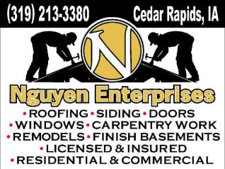 Nguyen Enterprise Roofing & Construction