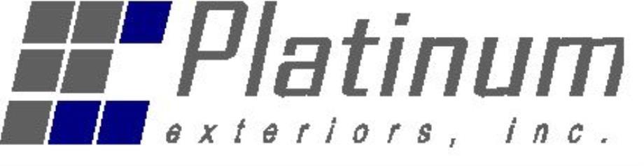 Platinum Exteriors Inc