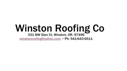 Winston Roofing Company