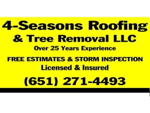 4 Seasons Roofing & Tree Removal LLC