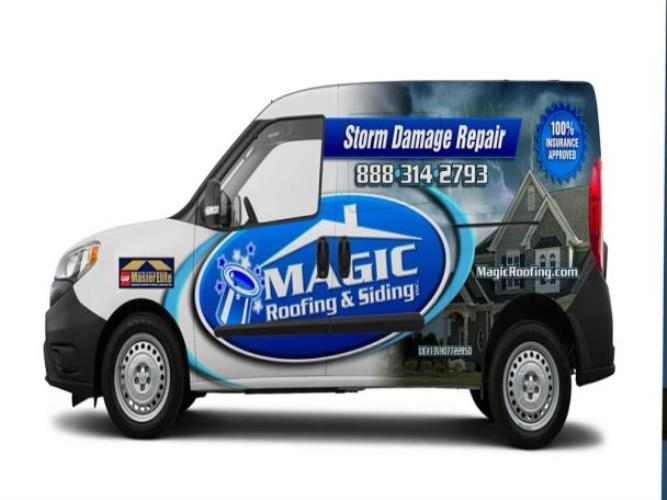 Magic Roofing & Siding Inc