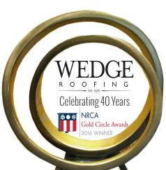 Wedge Roofing Inc