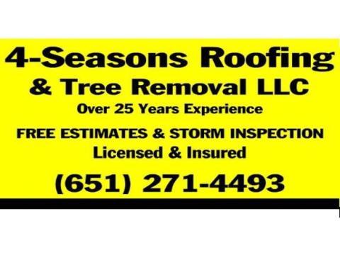 4 Seasons Roofing & Tree Removal LLC