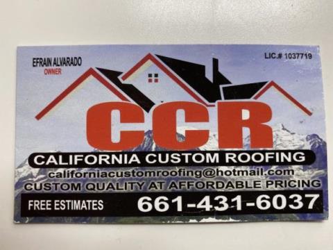 California Custom Roofing
