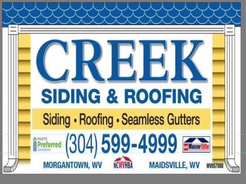 Creek Siding & Roofing Inc